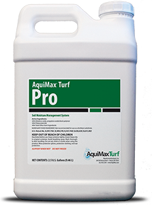 AquiMax Turf Pro is a wetting agent designed for professional Turf applications