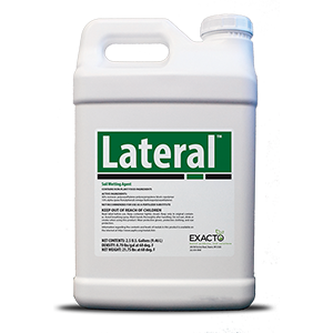 Lateral is a wetting agent that helps prevents LDS