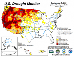 Drought conditions improves a bit in some areas